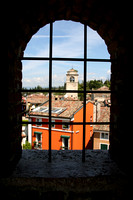 View from Scaliger Castle, Sirmione