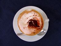 Cappuccino in Sorrento